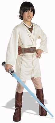 STAR WARS Jedi * OBI-WAN KENOBI * Child Costume M MEDIUM 8-10 Licensed Obi Wan