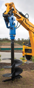 AUGER POST HOLE DIGGER SCREW PILE for All Sizes & Models