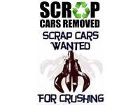 SCRAP CARS VANS 4x4 (WANTED)