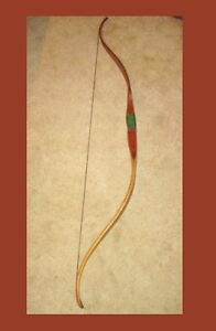 "VINTAGE - UNMARKED 62"" WOODEN BOW & ARROW SET....Good Condition"