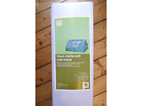 Giant cloche and cold frame, B&Q, excellent condition, not used outside.