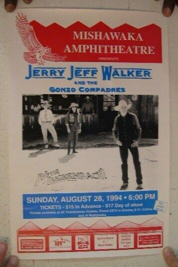 Jerry Jeff Walker And The Gonzo Compadres 1994