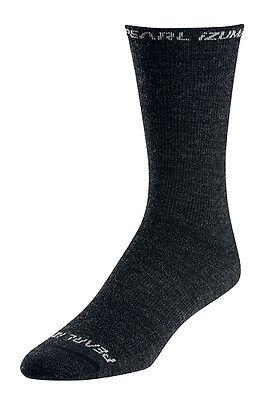 Pearl Izumi Elite Tall Wool Bike Cycling Socks Black XL