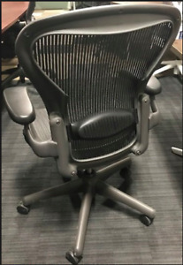 Herman Miller Aeron office chairs - Lumbar Support