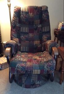 Swivel recliner rocker chair