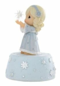 Precious Moments - Girl with Glass Star Musical Figurine