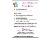 Professional Ironing Service - FREE Collection and Delivery