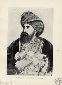 1899 Emiro di BUKHARA REGNANTI DEL MONDO Antica FOTO - Italia - L'oggetto può essere restituito - Italia