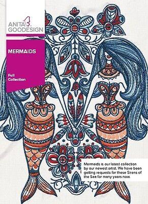Anita Goodesign Embroidery Machine Design CD MERMAIDS