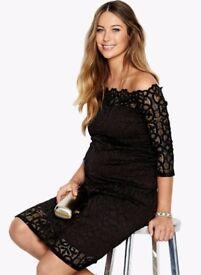 Maternity Black Occasion Dress size 12