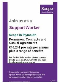 Support Worker - Scope in Plymouth