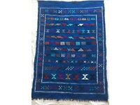 Traditional Moroccan Berber rug