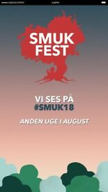 Smukfest 2018, Saturday 11-Aug, Day Pass