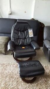 New swivel recliner chair w Bentwood base - Delivery Available