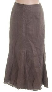 Linen Flared Skirt - PLUS SIZE 24W - NEW