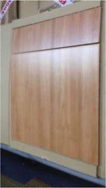 Job lot 250 kitchen door and draws, many sizes
