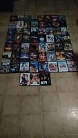 DVDs - set of 59 (that's $1.36/ DVD)
