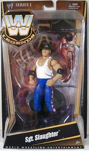 WWE Legends Series 1 Sgt. Slaughter Figure NIP Mattel 2010