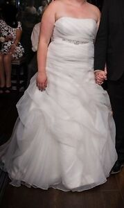 Perfect Condition - Plus Sized Wedding Dress