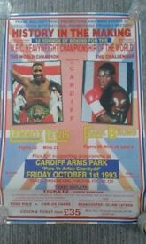 boxing promotion poster