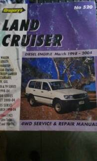Toyota Landcruiser workshop manual******2004 models