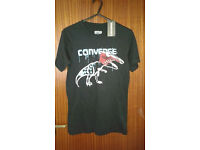 Brand New With Tags Boys Converse T-shirt- 10-12 years