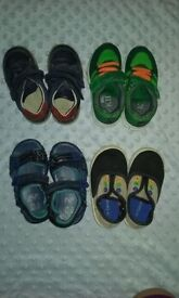 Baby boy shoes - size 6 (6 pairs): Clarks M&S F&F George