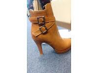 NEW Leather Boots (UK 4; EU 37)