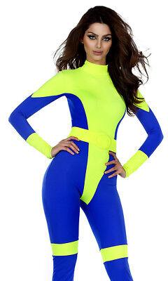 Forplay Pretty Powerful Super Hero Comic Cyclops Jean Grey Catsuit - Cyclops Comic Kostüm