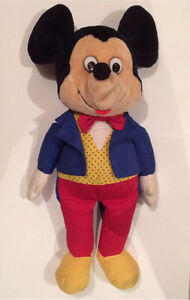 Vintage Disney Mickey Mouse plush.  Regina Regina Area image 1