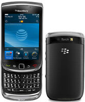 BlackBerry Torch 9800 Slides Up For Key Board (No Charger)