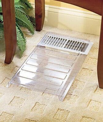 Vent Extender Heat Air Conditioner Register Deflector Adjustable Floor Furnace