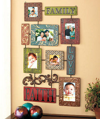 Embossed Metal Collage Frame