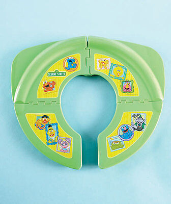 SESAME STREET  PORTABLE TRAVELING POTTY SEAT