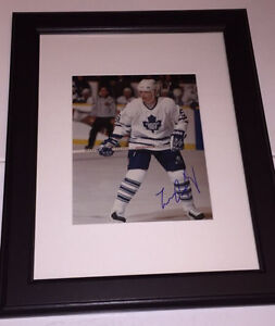 Larry Murphy Autographed Toronto Maple Leafs 8x10 Framed