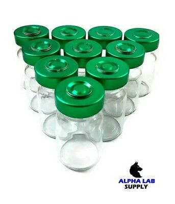 5ml Sterile Clear Glass Vials - 25 Pack - Free Shipping