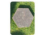 150 hexagon slabs
