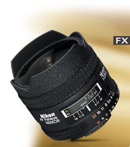 Nikon 16mm fisheye f/2.8