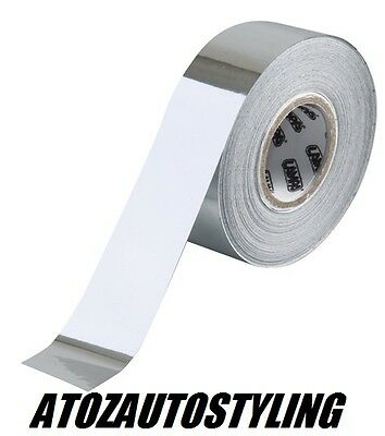 Chrome Detailing Foil Tape Car Stripe Coachline 10m Roll x 20mm Wide <<NEW>>