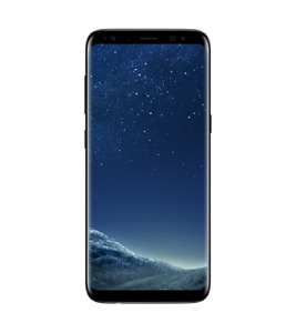 Samsung Galaxy S8 64GB Black Unlocked Mint Condition with Case