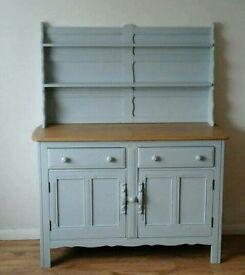 Shabby chic mid century original 'Ercol' dresser / sideboard