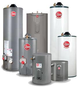 Hot Water Tank Rental - $0 INSTALL- Reduced rental rates