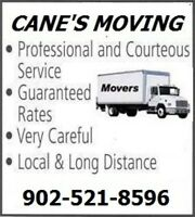 CANE'S MOVING SERVICE