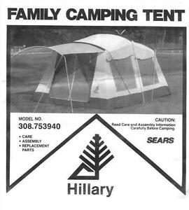 For Sale, Hillary 10' x 14' 2 Room Tent