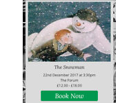The Snowman. live orchestra and comic movie @the forum