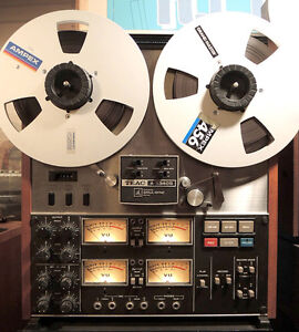 reel to reel tape decks and peripherals