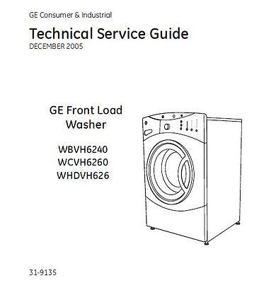 Free Ge washer Repair Manual
