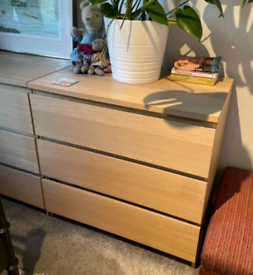 3x chest of drawers. Can deliver locally