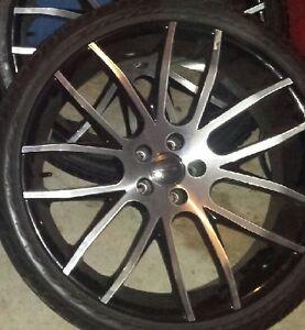 Luxury Giovanna Kilis - 20 inch rims on Performance Tires