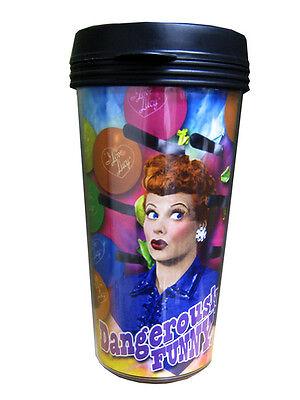 I Love Lucy 16 oz Travel Plastic Coffee Mug, New  Desi TV Series Collectable